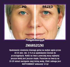 NIEZWYKŁY TRIK NA ZMARSZCZKI MIMICZNE na Stylowi.pl Beauty Care, Diy Beauty, Beauty Habits, Face Massage, Les Rides, Natural Cosmetics, Young Living Essential Oils, Good Advice, Face Care