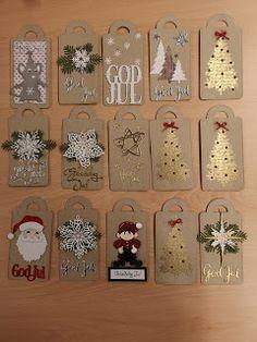 Christmas Window Decorations, Diy Christmas Cards, Christmas Gnome, Christmas Cookies, Christmas Gifts, Xmas Crafts, Paper Crafts, Crochet Amigurumi Free Patterns, Card Tags