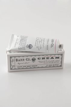 Barr-Co. Hand Cream - Amazing smell and makes hands so soft!!