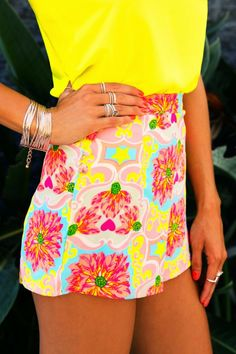 Gorgeous Bright Color Combination