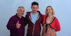 Scott Haran with his parents