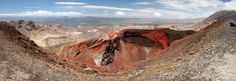 Red crater, Tongariro National Park, New Zealand - By www.toothbrushnomads.com