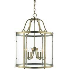 brass pendant lantern - Google Search