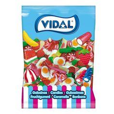 El Fantasía Mix Vidal es un surtido de golosinas clásicas de brillo, en el que aparecen besitos, dedos, huevos y fresas Huevos Fritos, Snack Recipes, Snacks, Pop Tarts, Packaging, Fantasy, Shopping, Goodies, Sparkle