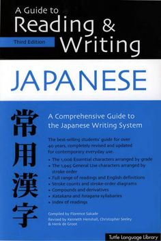 A guide for kanji