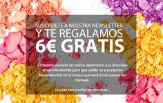 Suscribete a Perfumería Prieto y llévate 6€ GRATIS