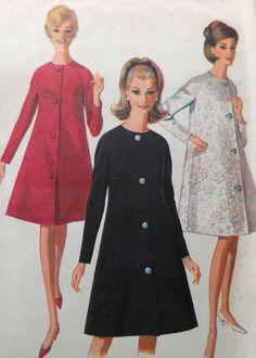 Vintage Coat Sewing Pattern