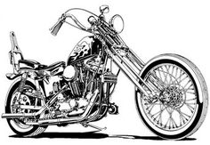 harley sportster chopper motorcycle side view - Motocycle Pictures and Wallpapers Harley Davidson Chopper, Harley Davidson Kunst, Harley Davidson Posters, Harley Davidson Tattoos, Harley Davidson Sportster, Davidson Bike, Sportster Chopper, Chopper Motorcycle, Motorcycle Art