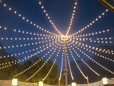 Lights at the Feria de Abril -- The Seville Spring Fair (Spain)