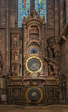 File:Strasbourg Cathedral Astronomical Clock - Diliff.jpg