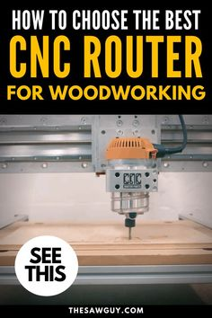 Whether you're dipping your toes into the realm of CNC routers for woodworking or simply need a new machine, choosing the best CNC router on the market. Router Tables For Sale, Cnc Router Table, Cnc Router Plans, Cnc Router Bits, Diy Cnc Router, Router Tool, Cnc Router Machine, Wood Router, Cnc Router For Sale