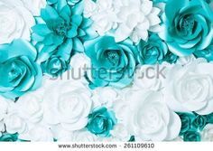 stock-photo-background-of-turquoise-and-white-flowers-261109610.jpg (450×320)