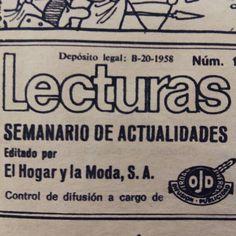 Lecturas, muchos años atrás #ogilvycuidalapublicidad #espcuidalapublicidad #smilefestival15 #adshistorysmilefestival