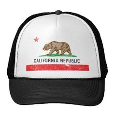 Cover your head with a customizable hat from Zazzle! Shop from baseball caps to trucker hats to add an extra touch to your look! Irish Hat, Funny Hats, Vintage California, California Flag, E Mc2, Hats Online, Pli, Hakuna Matata, T Rex
