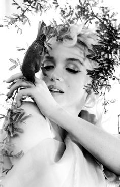 Marilyn Monroe photographed by Cecil Beaton, 1956