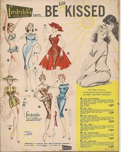 1959 Frederick's of Hollywood ad