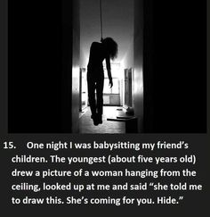 17 Creepy Things Kids Say Heard by Their Babysitters