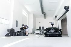 Meet The World's Fastest Camera Car: The Lamborghini 'HuraCam' - UltraLinx Camera Rig, Lamborghini, Garage, Meet, Cars, World, The World, Autos, Garages
