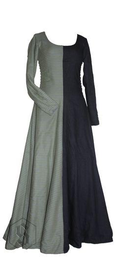 Sartorium, Justyna Wiklik mi-parti woollen dress