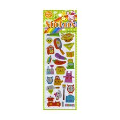 Stickers of cute items to do with food and cooking and little kawaii faces on them. Just Euro 0.99 or USD 1.20