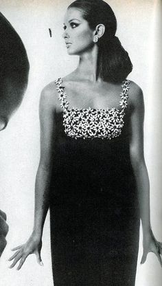 Veronica Hamel ~ photo by Bert Stern ~ Vogue US ~ Sept. 1966