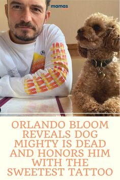 "Orlando Bloom Mourns Death of Beloved Dog with Sweet Tattoo  ""I have wept more this week than I thought possible."" Orlando Bloom mourns the loss of his cute dog by getting a tattoo in his pup's honor.  #OrlandoBLoom KatyPerry #Mightythedog"