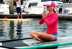 #RoxyOutdoorFitness SUP yoga #Me