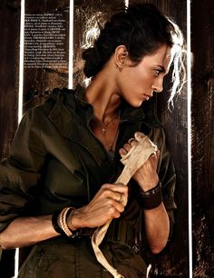 ☆ Aymeline Valade | Photography by Giampaolo Sgura | For Vogue Magazine France | June 2013 ☆