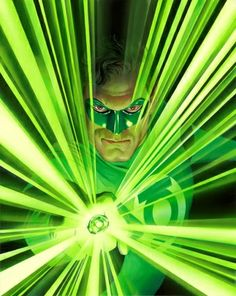 """Mythology: Green Lantern Created by DC Comics artist Alex Ross, """"Mythology: Green Lantern"""" is the companion piece to """"Mythology: Superman,"""" Green Lantern is based on the character, Hal Jordan, developed during the Silver Age of Comics in 1959. Each piece is hand-numbered and has been signed by Alex Ross."""