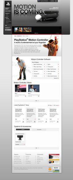Mock Design US Playstation Motion Controller Page