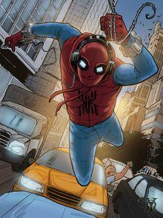 Spider Man Homecoming by royhobbitz