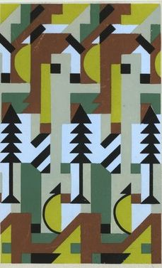 1920s textile designs by verneuil from dots and lines are just fine