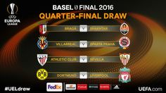Europa Cup Quarterfinal Fixtures are Out
