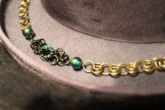Rose and Leaf Chainmaille Bracelet by EotBDesigns on Etsy, $26.00