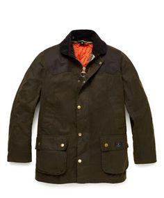 WEAR DIFFERENT: Jack Spade + Barbour Hopper Jacket