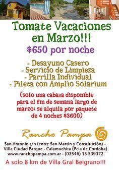 Rancho Pampa: Marzo en Rancho Pampa!