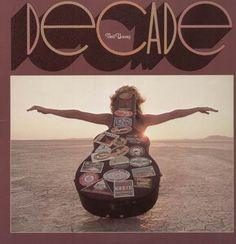 Neil Young - Decade. Triple LP. Records are in perfect shape. Packaging is in pretty rough shape.