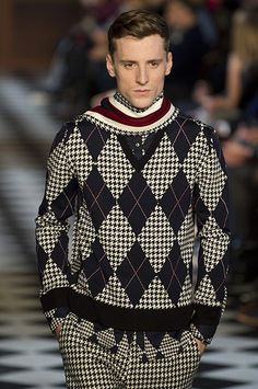 c/o Guardian UK: Tommy Hilfiger Men's Collection Fall 2013 #tommyfall13 #nyfw #menswear