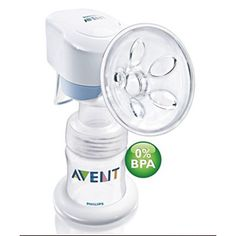 Philips AVENT ISIS IQ Single Electric Breast Pump - Distributed to independent stores throughout Canada by Kidcentral Supply: www.kidcentral.ca