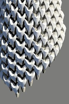 "Robotic fabrication of ""Sartorial Tectonics"" facade system, Andrew Saunders"