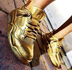 Nike, Gold Nike Gold, Jordan 3, Color Themes, Combat Boots, Adidas Sneakers, Footwear, Nude, Fitness Clothing, Random Stuff