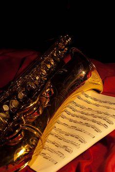 Saxophone by mrcrontab, via Flickr
