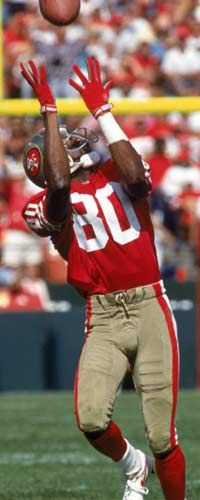 Jerry Rice, Isaiah's favorite; makes it look spool easy. (#1)