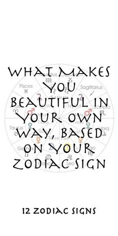 What Makes You Beautiful In Your Own Way, Based On Your Zodiac Sign #Aries #Cancer #Libra #Taurus #Leo #Scorpio #Aquarius #Gemini #Virgo #Sagittarius #Pisces #zodiac_sign #zodiac #astrology #facts #horoscope #zodiac_sign_facts #zodiac #relationships Zodiac Compatibility, Zodiac Horoscope, Astrology, Sagittarius, Aquarius, 12 Zodiac Signs, Zodiac Sign Facts, Zodiac Relationships