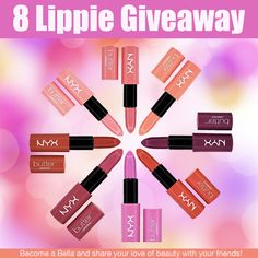 NYX Lip Butter Giveaway