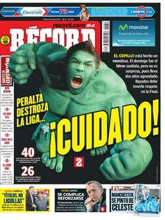 Portada RÉCORD 15-05-2012 | México y Guadalajara