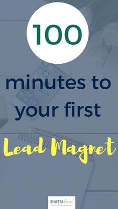 The 5 step process to create your first lead magnet in 100 minutes Email Marketing Lists, Sales And Marketing, Business Marketing, Content Marketing, Business Tips, Online Business, How To Get Clients, Lead Magnet