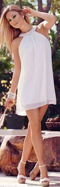 Me encanta el blanco para el verano