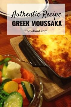 Greek Moussaka Authentic Recipe | The WHOot Meat Sauce Recipes, Seafood Recipes, Dinner Recipes, Dinner Ideas, Moussaka Recipe Greek, Eggplant Dishes, Greek Cooking, Instant Recipes, Mediterranean Diet Recipes