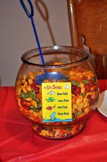 Goldfish snack bowl